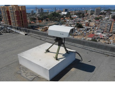 Wireless Optical solution in financial sector in Angola
